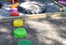 Garden playground ideas