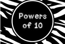 Wild About Powers of 10