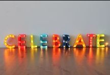 Celebrations, Showers and Parties / by Melissa Bode