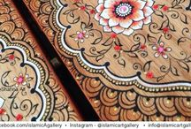 Henna art on different objects / Inspiration - online source