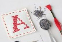 Sachet a Day Project #sachetaday / Can I create, stitch, photograph and post a letter-based sachet for 26 days straight? From A to Z? Let's see!