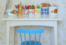 poppets & playroom / by Rebecca Wallbank