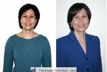 Before & After Photos / Image Makeovers by Sandy Dumont, The Image Architect. Internationally-known speaker and image consultant. Stiletto Camps for women are her specialty.    http:///www.theimagearchitect.com / by Image Consulting