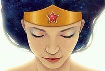 Wonder Woman / Wonder Woman and amazonians of DC Comics
