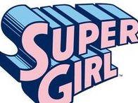 Supergirl & Power Girl / Supergirl and Power girl of DC comics
