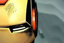 Iron Man / Iron Man, War Machine, Iron Patriot, etc. Marvel Comics