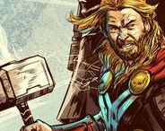 Asgard / Thor, Loki and all things Asgard. Marvel Comics.
