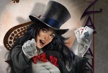 Zatana / She brings magic to DC Comics.