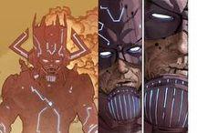 Galactus / Eater of worlds Galactus. Marvel Comics.