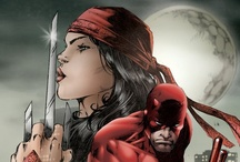 DareDevil & Elektra / Marvel comics.