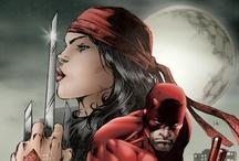 DareDevil & Elektra / Marvel comics.