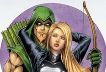Arrow & Co. / Green arrow, Arsenal, Black Canary, etc. DC Comics.