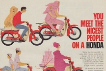 Vintage Recreational Vehicles Ads / Vintage recreational vehicles advertisements feature Honda, Spartan Aircraft Company and more.