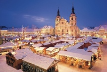 Christmas Markets / Mince pies, mulled wine, snow topped wooden cabins, even the chance to see Santa! What more do you need for some good ol'Christmas cheer? Here are Skyscanner's top Christmas markets from around the world. Re-pin your favourite or comment on the most festive!