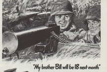 Vintage Military Ads / Vintage military advertisements feature General Motors, Marine Corps, Fischbach and Moore, Air Force, Western Electric, American Gas Association, U.S. Army and more.