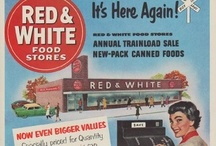 Vintage Department & Retail Store Ads / Vintage department & retail store advertisements feature S. & H. Green Stamps, Rexall Drug Store, National Cash Register, A & P Stores, Union-Camp, Montgomery Ward, Red & White Food Stores, Sears, Woolworth's and more.