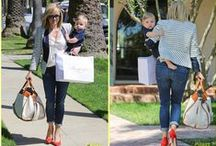 Celebrity Mamas / Celebrity Moms: Style & products / by Noodle & Boo