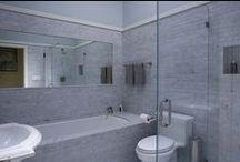 interior: bathroom / by Michael Mullin Architect