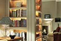 interior: library