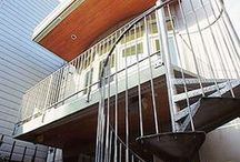 facades: back / back facades tend to feature a space which is both indoor and outdoor