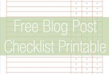 Blog / Tips and resources for bloggers.