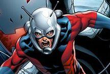 Ant-Man & Wasp / Ant-man, Yellow Jacket, Wasp, etc. Marvel Comics.