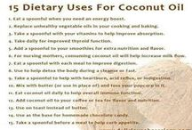 Coconut oil / Benefits, recipes, and uses for coconut oil.