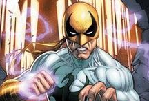 Iron Fist, Luke Cage & Jessica Jones / Marvel comics