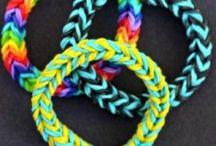 Loom / Band-it / Rainbow bracelets