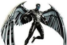 Archangel / Angel / Angel / Archangel . X-men. Marvel comics
