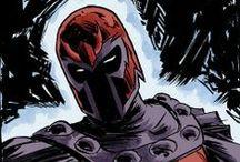 Magneto / Master of magnetism. Marvel comics