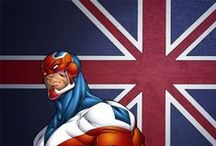 Captain Britain / Marvel comics