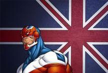 Captain Britain / Marvel comics
