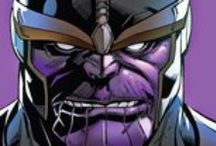 Thanos / The mad titan of Marvel Comics