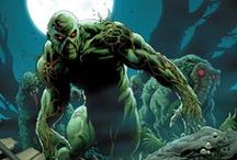 Swamp Thing & Man-Thing / One from Marvel one from DC. More of the same thou.