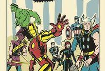 Avengers / Defenders / Thunderbolts / Marvel comics teams
