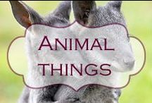 Animal things especially hares! / Items inspired by animals in any medium