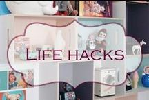 Life hacks / Being tidy and organised made easy
