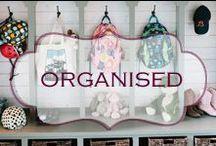 Organised / Ideas to keep you organised