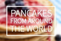 Pancakes from around the World. / Here at Skyscanner HQ we have complied a list of our favourite pancake from around the world. Which Pancake is your favourite? / by Skyscanner