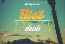 Travel Deals / Skyscanner is here to help you find the best travel deals for your budget, all flights under £100.  / by Skyscanner