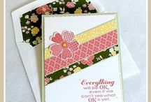 All Abloom Designer Series Paper / Card made using All Abloom Designer Series Paper / by Stamps to Die For, Patsy Waggoner