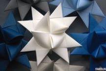 ♢ Froebel Stars / All about Froebel paper stars also referred to as #German Christmas Stars, #German stars, #Moravian Stars, #Swedish Stars, #Danish Stars and #Advent Stars. In Denmark called #flettede julestjerner #flette stjerner #3-dimensionelle stjerne #flettet stjerne #julestjerne.