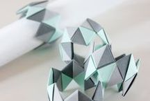 ♢ Modular Origami / Learn how to fold multiple paper units and assemble them without glue or thread.