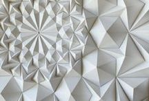 ♢ Paper Art / It always amazes me to see how paper can be turned into beautiful pieces of art