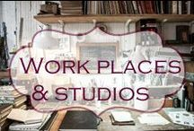 Work places/Studios / Artists studios and home offices