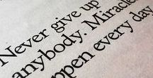 Sayings and mottos / Inspirational sayings, mottos and quotes