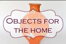 Objects for the home / Ceramics, cloisonnes, decorative items