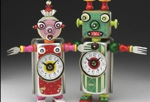 Junky robots / I am collecting junk to make robots... that's my excuse and I'm sticking to it. / by Emily Nilson