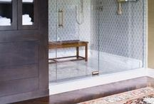 Bathrooms / Ideas for bathroom decor and design for full baths to powder rooms
